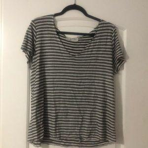 Striped Urban Outfitter V-neck